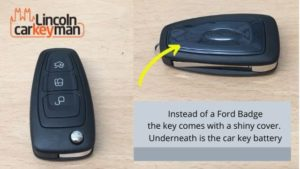 Ford Custom key in Lincoln