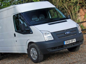 Ford Transit key in Lincoln